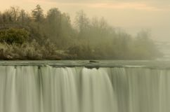 The incredible beauty of Niagra Falls stock images