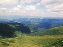 Incredible Carpathian Mountains Royalty Free Stock Image