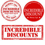 Incredible Discount Royalty Free Stock Image