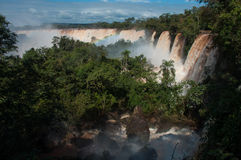 Incredible and gorgeous waterfalls of Iguazu, Argentina Stock Photography