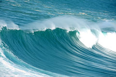 Incredible huge wave at the atlantic ocean Stock Photography