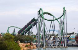 The Incredible Hulk at Island of Adventure, Orland Stock Images
