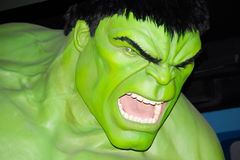 The incredible Hulk Stock Image