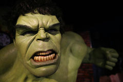 The Incredible Hulk portrait Stock Photography