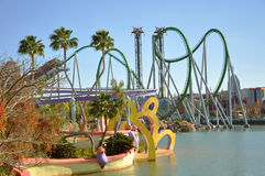 Incredible Hulk in Universal Orlando Royalty Free Stock Images
