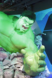 Incredible hulk wax figure Stock Images