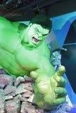Incredible hulk wax figure Stock Images
