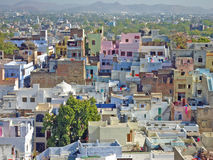 Beautiful andd colorful cityscape in India. India, beautiful cityscape, incredible India Stock Images