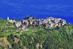 Incredible Itlay series, Corniglia Royalty Free Stock Photography