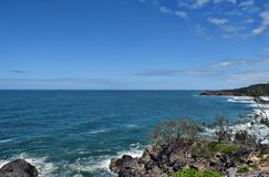 The incredible landscape of Noosa National Park royalty free stock photography