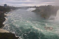 Waterfalls Landscapes Niagara Falls , Toronto Royalty Free Stock Photos