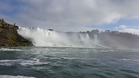 Waterfalls Landscapes Niagara Falls , Toronto. Incredible Landscapes of the natural Niagara Falls Stock Image