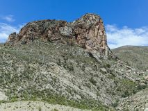 The incredible landscapes surrounding the jalq a communities in. Bolivia can be visited Stock Photo
