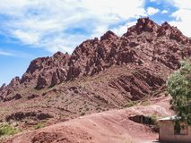 The incredible landscapes surrounding the jalq a communities in. Bolivia can be visited Stock Photography