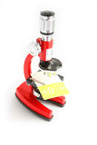 Incredible low prices. The microscope - incredible low prices Stock Photos