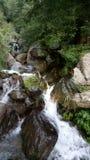 Incredible Manali full of sceneries. Rocks, water royalty free stock image