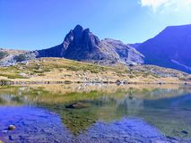 incredible nature in the Rila mountain in Bulgaria stock images