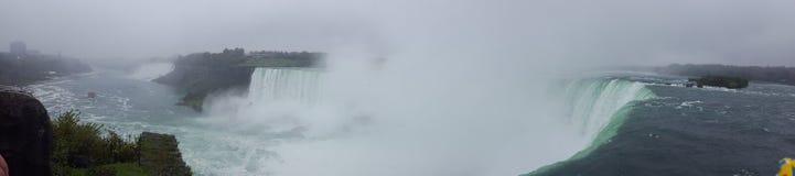 Waterfalls Panorama Landscapes Niagara Falls , Toronto. Incredible Panorama Landscapes of the natural Niagara Falls Stock Photography