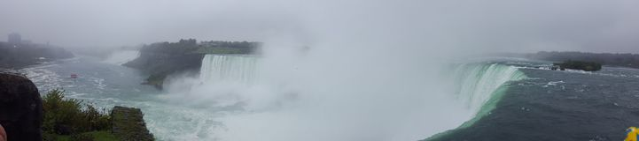 Waterfalls Panorama Landscapes Niagara Falls , Toronto Stock Photography