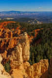 Incredible rock formation. Bryce Canyon National Park. Utah, US. Incredible rock formation. Bryce Canyon National Park. Utah, United States of America Royalty Free Stock Photos