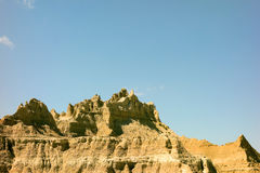 Incredible rock formations in wyoming Royalty Free Stock Photography