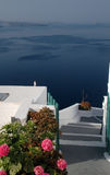 Incredible santorini view Royalty Free Stock Images