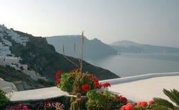 Incredible santorini view Royalty Free Stock Photo