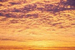 Incredible sunrise or sunset sky Stock Photos