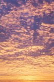Incredible sunrise or sunset sky Stock Photography