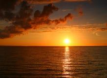 Incredible sunset Stock Photos