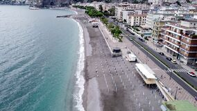 Aerial view of Maiori, Amalfi coast. Italy