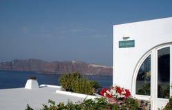Incredible view greek islands Stock Photos