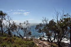 The incredible view of Noosa royalty free stock photography