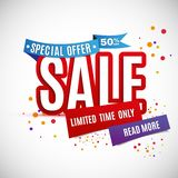 Incredible Wow Sale banner design template. Big super sale special offer, Vector illustration. Incredible Wow Sale banner design template. Big super sale Stock Photos