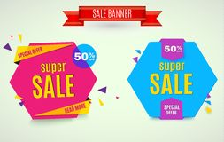 Incredible Wow Sale banner design template. Big super sale special offer, Vector illustration. Incredible Wow Sale banner design template. Big super sale Royalty Free Stock Photo