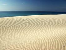 Incredibles Dunes at Porto Pino's Bay Royalty Free Stock Photos