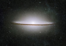 Incredibly beautiful galaxy somewhere in deep space Royalty Free Stock Photos