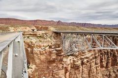 Incredibly beautiful Navajo bridige on the Grand Canyon, Arizona, USA Royalty Free Stock Image