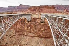 Incredibly beautiful Navajo bridige on the Grand Canyon, Arizona, USA Stock Images