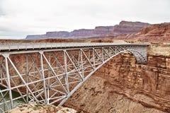 Incredibly beautiful Navajo bridige on the Grand Canyon, Arizona, USA Stock Photography