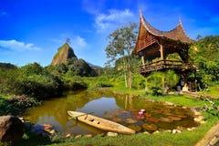 Incredibly härliga ställen i Padang Wonderfull Indonesien royaltyfri bild