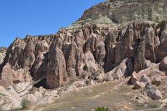 Incredibly landskap i mellersta Turkiet Royaltyfri Fotografi