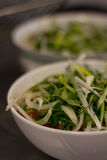 Incredients of Vietnamese beef noodle soup Pho Bo Royalty Free Stock Images