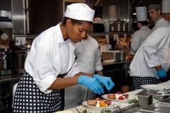 Incremento del mercato e dei ristoranti dei frutti di mare del pesce immagine stock