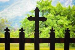 Incroci ortodossi Fotografia Stock Libera da Diritti
