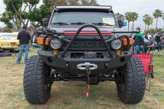 Incrociatore 2007 di Toyota FJ su esposizione Fotografia Stock Libera da Diritti