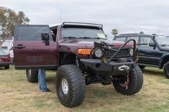 Incrociatore 2007 di Toyota FJ su esposizione Immagini Stock Libere da Diritti