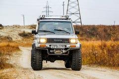 Incrociatore Prado 70 della terra di Toyota Immagine Stock Libera da Diritti