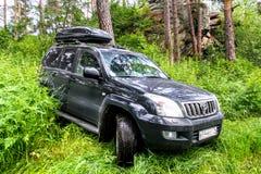 Incrociatore Prado 120 della terra di Toyota Fotografie Stock Libere da Diritti