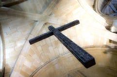 Incrocio cattolico Fotografia Stock Libera da Diritti